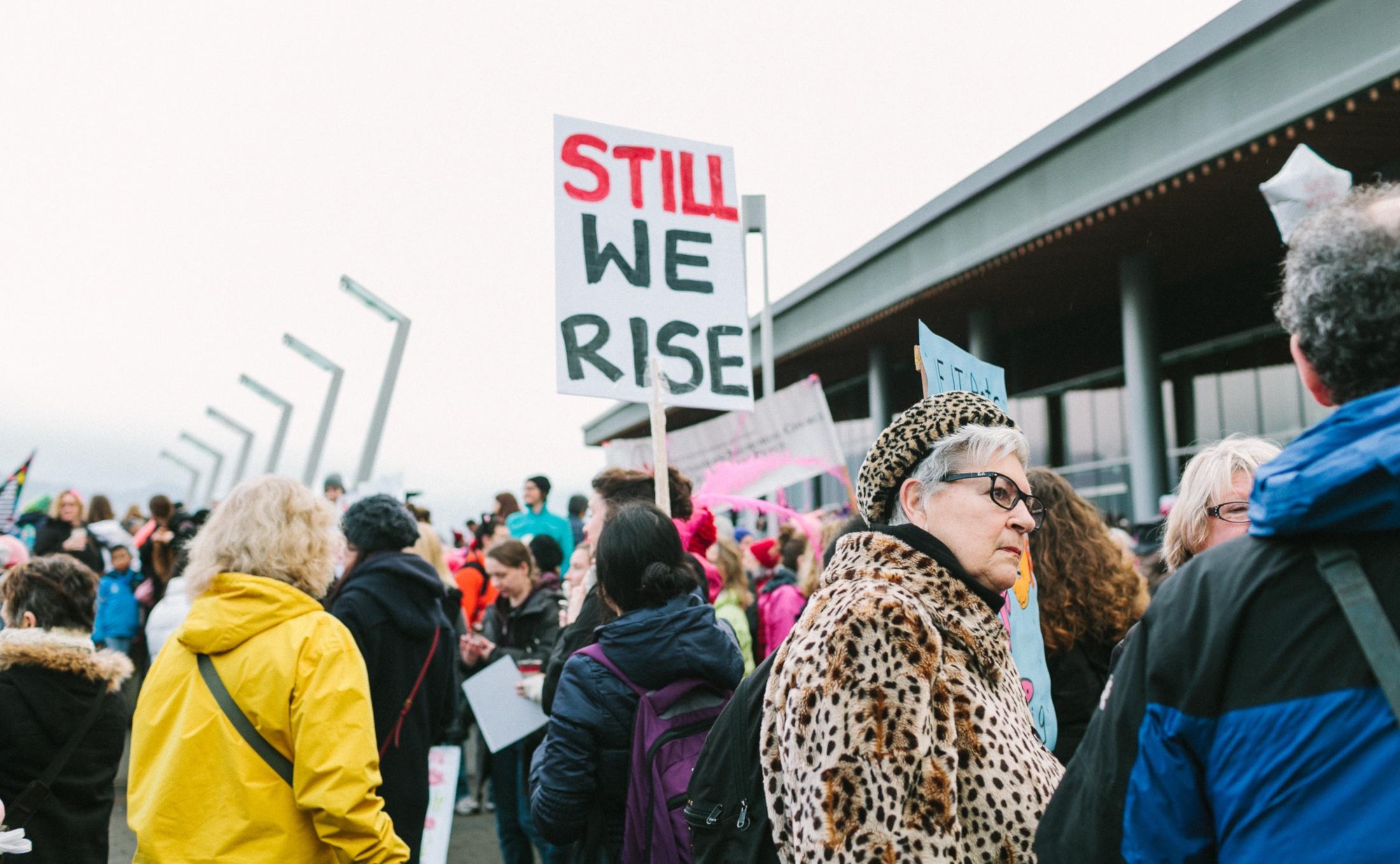 Demonstration Frauen Feminismus