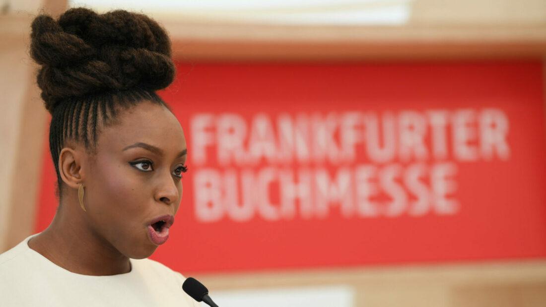 Chimamanda Ngozi Adichie bei der Frankfurter Buchmesse 2018